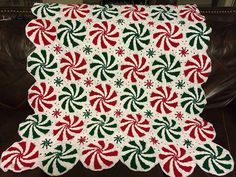 peppermint afghan crochet pattern - Google Search                              …