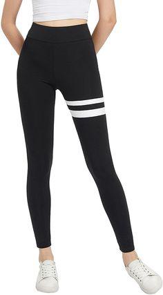 Amazon.com: SweatyRocks Women's Grey Knit Crisscross Cuff High Waist Yoga Workout Leggings Black #4 L: Clothing Black Workout Leggings, Yoga Fitness, Criss Cross, Fashion Brands, High Waist, Contrast, Black Jeans, Topshop, Amazon