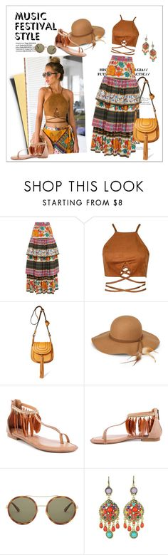 """Untitled #81"" by erihiro ❤ liked on Polyvore featuring Stella Jean, Chloé, Steve Madden, 2 Lips Too, Gucci and WithChic"