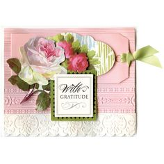 Anna Griffin® Cuttlebug™ Machine with Embossing Folders