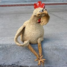 Mazi Character Chicken Sitting CP462 SOLD