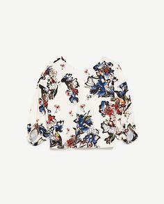 Bild 8 von OBERTEIL MIT PRINT von Zara