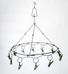 Antique Japanese laundry hanger - The begginning of a handmade chandelier idea?