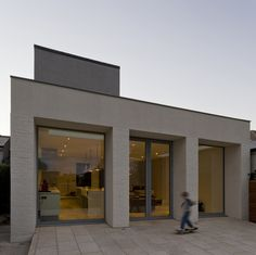House in Clontarf_Architectural Dublin, Garage Doors, Exterior, Architecture, Outdoor Decor, Irish, House, Facebook, Twitter