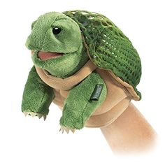 Folkmanis Little Turtle Hand Puppet -- Want to know more, visit