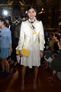 Giovanna Battaglia - PFW: Front Row at Stella McCartney