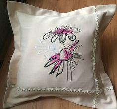 Chamomiles machine embroidery design