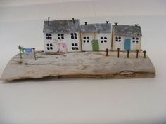 Driftwood house by sea wizard Wales in Decorative Ornaments & Figures | eBay