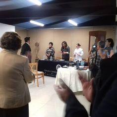 Examen Profesional de Oscar Urbina. Colegio Superior de Gastronomía