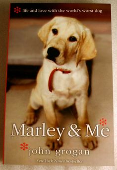 Marley and Me is a recommended read for any dog lover. It is a tear herker though. But, sometimes we need a good cry. Plus, makes you appreciate the time that you have left with your pets.