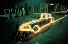 Lightpainting in 1970