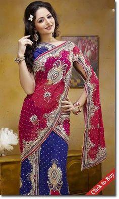 Embroidery saree drape in wedding collection.. #Embroiderysareedrape