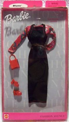 Fashion Avenue Barbie 1999 26588 Blues Film Festival NRFB   eBay