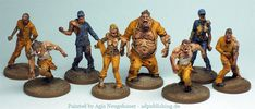 Agis Page of miniature painting and gaming - Postapocalyptic