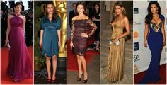 Deep / Dark Autumns // Aishwarya Rai, Natalie Portman, Penelope Cruz, Eva Mendes, Kim Kardashian // kolory intensywnej jesieni