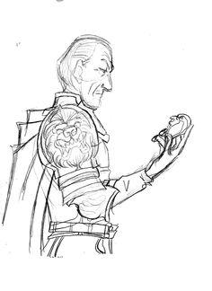 Tywin Lannister Sketch #gameofthrones #GOT #tywinlannister