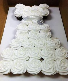 Cupcake dress, perfect for a bridal shower! We love this! http://cinderella4aday.com/Home.php http://www.jjsrockincupcakes.com/
