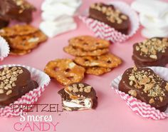 Pretzel S'more Candy