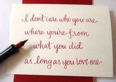 As Long as you love me by Backstreet Boys