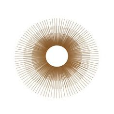 "$89.99 | Target  Oversized Gold Sunburst Mirror - 24"""