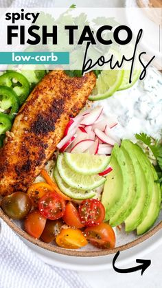 Paleo Recipes Easy, Whole 30 Recipes, Dairy Free Recipes, Clean Eating Recipes, Fish Recipes, Seafood Recipes, Low Carb Recipes, Healthy Eating, Spicy Fish Tacos