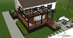Pergola Ideas For Deck Steel Pergola, Wood Pergola, Modern Pergola, Pergola Canopy, Pergola Swing, Deck With Pergola, Cheap Pergola, Covered Pergola, Backyard Pergola