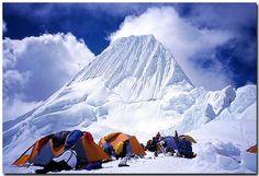 Climbing Nevado Alpamayo in the Cordillera Blanca of Peru