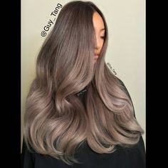 Metallic Obsession creating this ash blonde ombre by Guy Tang with @kenra