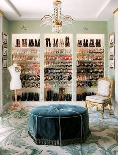 turn room into walk in closet glam dressing room