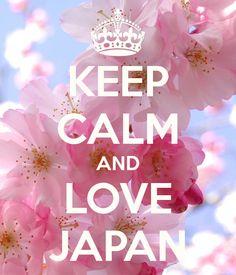 keep calm and love japan