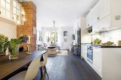 Les petites surfaces du jour : un deux pièces en pur style scandinave | PLANETE DECO a homes world | Bloglovin