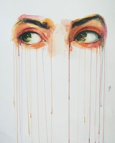 Alluring Watercolor Paintings Prove that Eyes are Windows to the Soul - My…