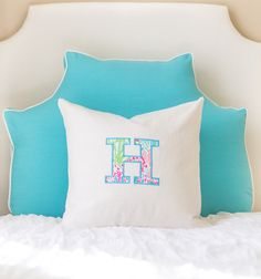 Headboard Pillow - Turquoise - available spring 2016