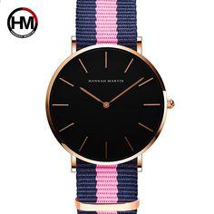HANNH MARTIN Ultra Slim Жіночий кварцовий годинник Браслет Модні наручні  годинники Кожгаларські жіночі дівчата Подарунки Relogio ee9c1f0d966e8