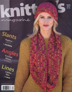 Knitters Magazine  №113  2013 Weather ready poncho