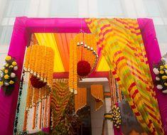 "3,840 Likes, 9 Comments - WeddingPlz.com (@weddingplz) on Instagram: ""Loved these marigold chandelier!  Photo by @ourweddingchapter  #weddingplz  #weddingphotography…"""