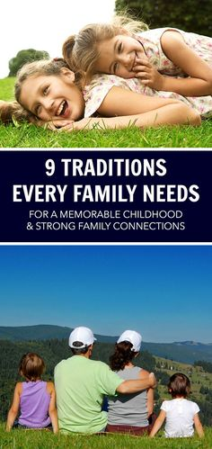 Family traditions are incredibly important to creating a memorable childhood, strengthening family connections and especially sibling bonds. Family traditions lead to a positive home and close-knit families.