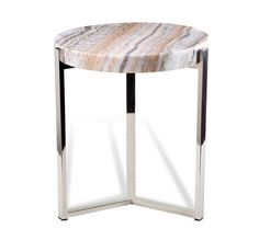 Interlude Cascades Onyx Side Table