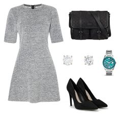 """""""Outfit #1 RNGM"""" by nudul on Polyvore featuring moda, Calvin Klein, FOSSIL, CHARLES & KEITH y Gucci"""