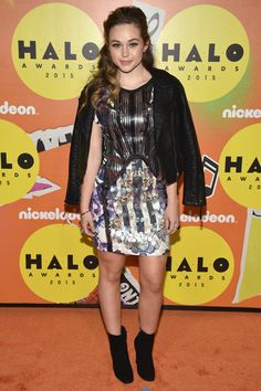 Brec Bassinger attends the 2015 Nickelodeon HALO Awards