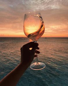 Nadire Atas - The World Is More Beautiful With A Glass Of Wine Imagem de wine, sunset, and beach Wine Photography, Summer Photography, Summer Aesthetic, Aesthetic Black, Korean Aesthetic, Aesthetic Food, Summer Photos, Fun To Be One, Summer Vibes