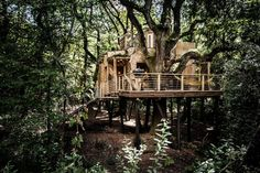 The Woodman's Treehouse by Mallinson Ltd