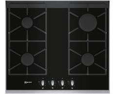 Neff T66S66N0 Built In Gas Hob - Stainless Steel