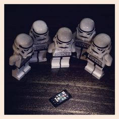 Stormtroopers find a phone
