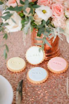Hochzeit Gunst Kekse persönlichen Hochzeitsgeschenk von NilaHolden
