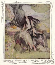 Little One, Little Two, Little Three - Anne Anderson's Fairy Tales and Pictures, 1935