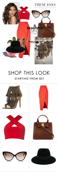 """So glamorous"" by dzenita-219 on Polyvore featuring moda, Coleman, C/MEO COLLECTIVE, Motel, Cutler and Gross i Maison Michel"