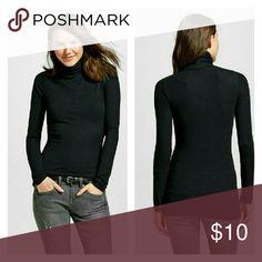 NWOT Ladies turtleneck sweater New without tags / 100% cotton? / Long sleeves / Long hemline Cherokee Sweaters Cowl & Turtlenecks