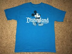 Sale Vintage MICKEY MOUSE Disneyland Resort Casual T by casualisme
