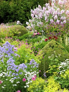 Perennial Gardens Can Provide A Full Season of Color